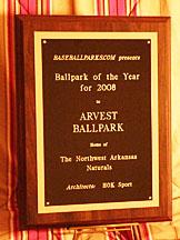 Arvest Ballpark – BaseballParks com